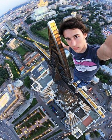 Dangerous Selfie