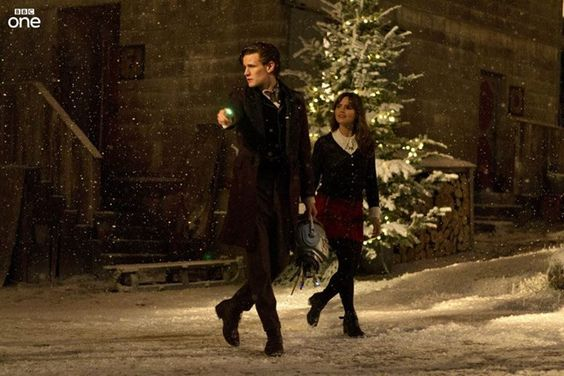 Doctor Who. Christmas Day. 7:30pm. Time of the Doctor.