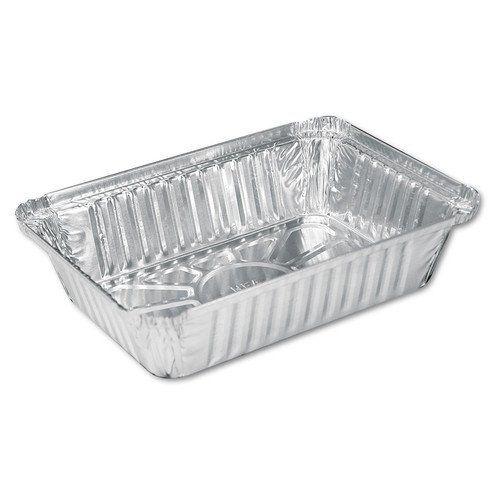 Disposable Aluminum 2 1 4 Lb Oblong Pan With Board Lid 250l 500 Aluminum Pans Oblong Restaurant Supplies