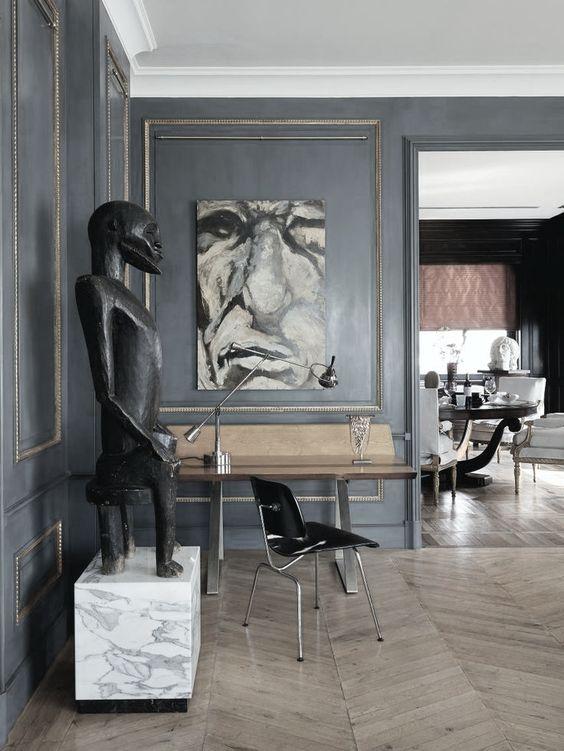 Pareti grigie, Grigio and Arredamento moderno on Pinterest