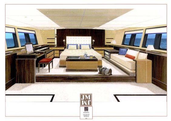 Robinson Marine Interiors. Javier Munoz design.