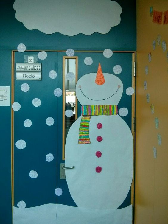 Puerta de Navidad.