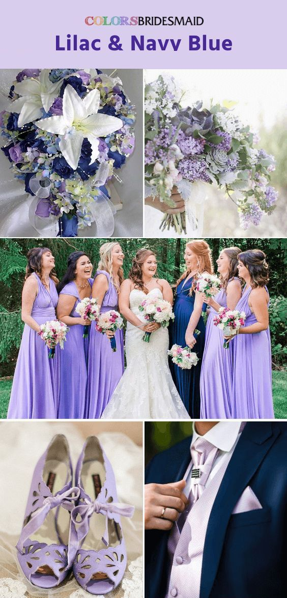 Top 5 Early Summer Navy Blue Wedding Ideas Navy Blue And Lilac