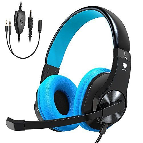 Casque Gaming Pour Ps4 Xbox One Vobon Micro Casque Gamer Stereo Anti Bruit Basse Avec Led Controle Du Volume Regl Best Gaming Headset Gaming Headset Headset
