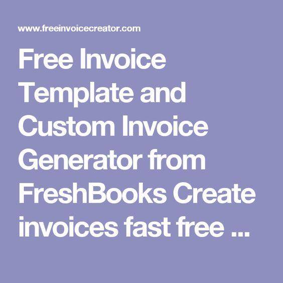 Best 25+ Free invoice creator ideas on Pinterest Invoice creator - free resume creator download