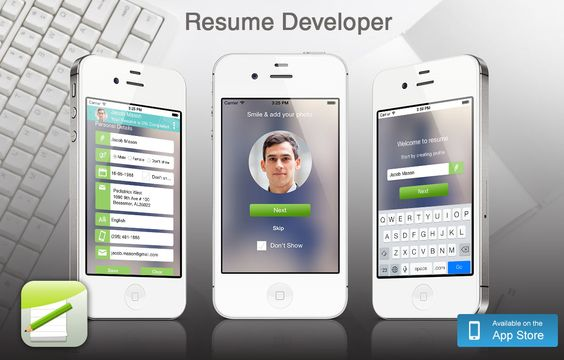 Looking for professional resume for your perfect career? This - best resume app