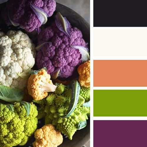 Orange Green Purple Room: Kitchen Colors, Orange Color Schemes And Wedding Colors On