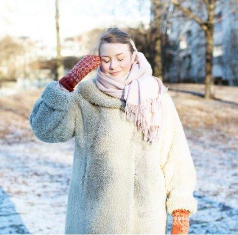 зимний винтажный стиль