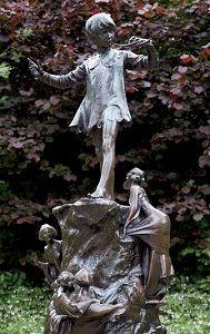 peter pan statue, kensington gardens