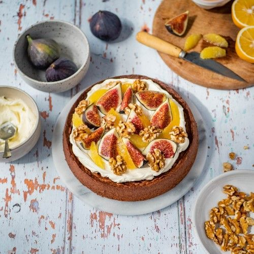 Homestyle Fig Cake California Walnuts Recipes
