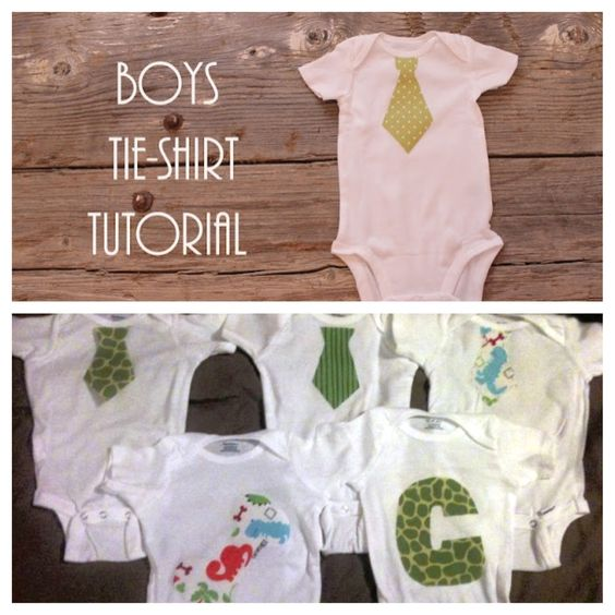 DIY onesies - onesies, fabric, iron on material, thread and needle! Love them for my little man!