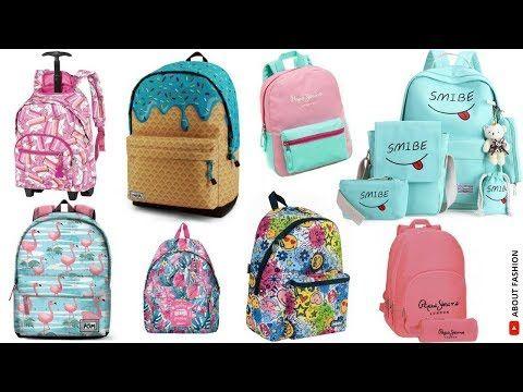 Moda en MOCHILAS juveniles para la escuela | Tendencias 2018
