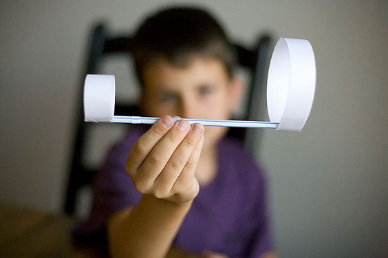 move over paper airplanes - check out this straw plane