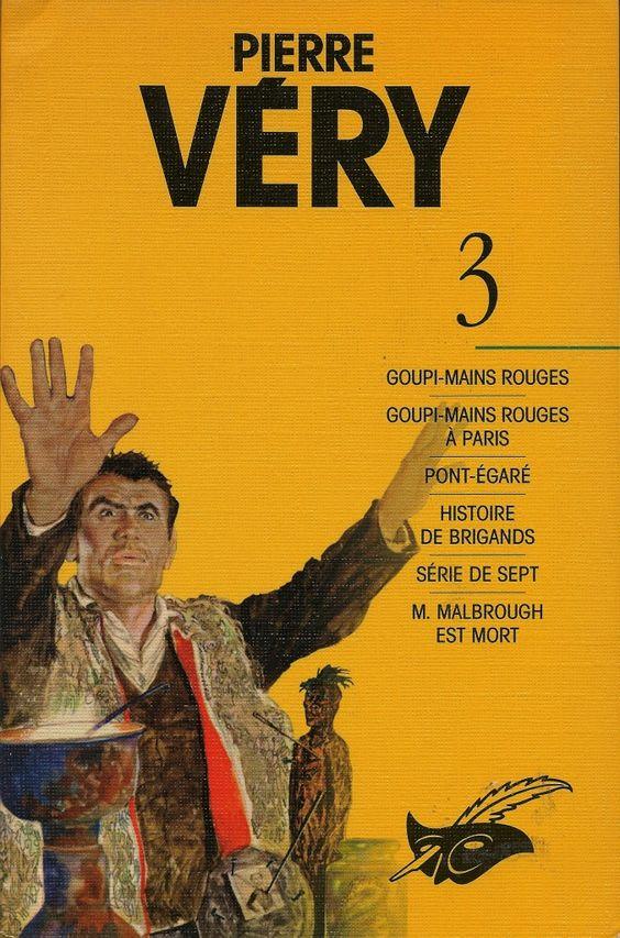 Les Intégrales du Masque - Pierre Véry - Volume 3 - Recto - Décembre 1997