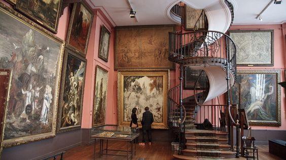 musée insolite à Paris - Musée Gustave Moreau
