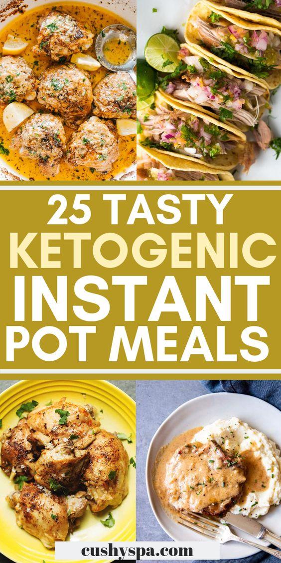 25 Tasty Ketogenic Instant Pot Meals