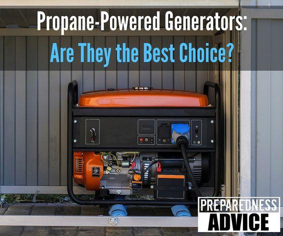 Propane Powered Generators-