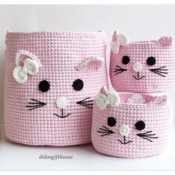 Cestos gatitos: