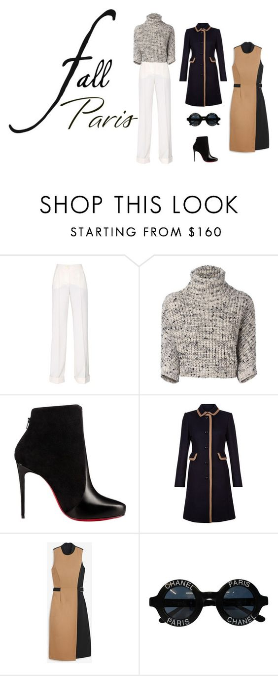 """""""Untitled #3018"""" by babeforcookies ❤ liked on Polyvore featuring Dolce&Gabbana, Brunello Cucinelli, Christian Louboutin, Hobbs, White House Black Market and Chanel"""