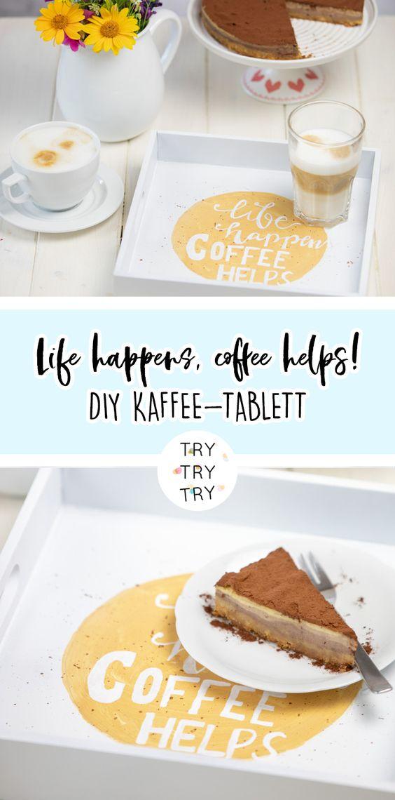 DIY Kaffeetablett