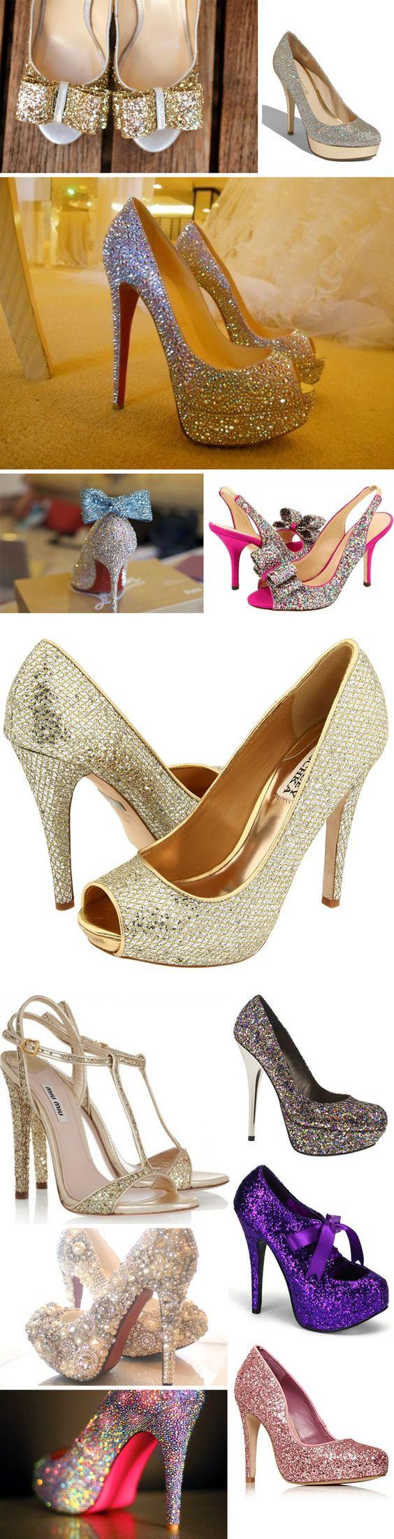 Sparkly Shoes | Shaadi Glitz