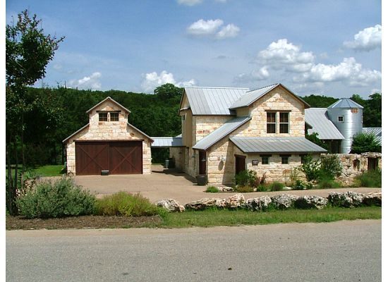 Hill Country Style Home Architecture Interesting