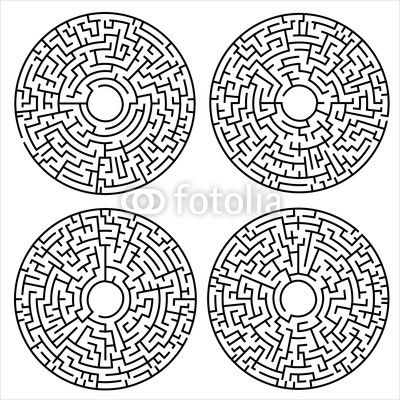circular maze - Google Search | G—Doha | Pinterest | Maze ...
