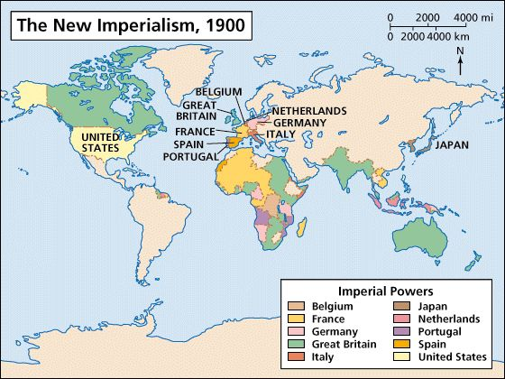 Imperialism Was One Of The MAIN Causes Of WWI This Map Shows - Germany map natural resources