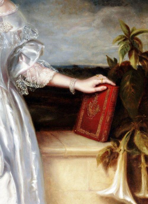 Portrait de Mme Alexander Spark (Détail) Maurice Felton 1840: