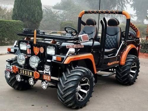Custom Jeep In India Jeep Suv New Jeep Truck Mahindra Jeep