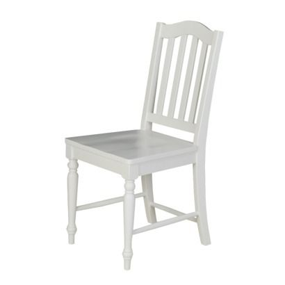 FOR THE NEW HOUSE  Cottage Desk Chair - White.Opens in a new window