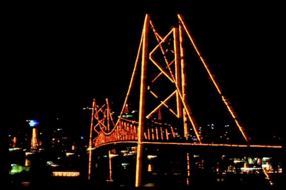 Ponte Hercílio Luz - Florianópolis - SC, Brasil