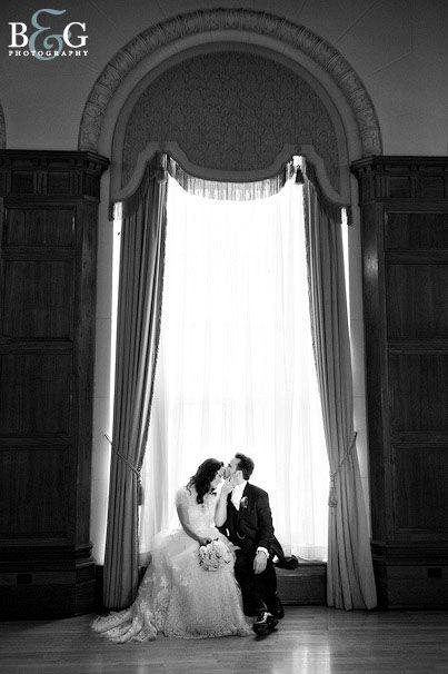 Park Plaza bride & groom