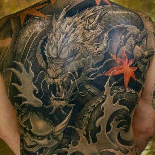 101 Best Dragon Tattoos For Men Cool Design Ideas 2020 Guide Dragon Tattoos For Men Japanese Dragon Tattoo Dragon Tattoo