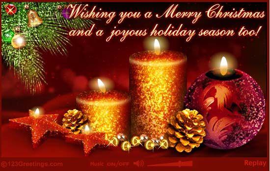 Una feliz navidad para todos mis amigos y seguidores