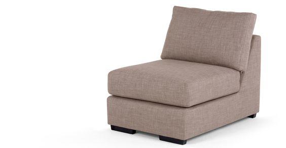 Mortimer, fauteuil modulable, café
