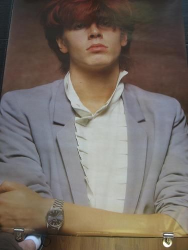 Loved this poster of John Taylor. I studied it so much I remember if you look close enough you could see his razor burn.LOL.