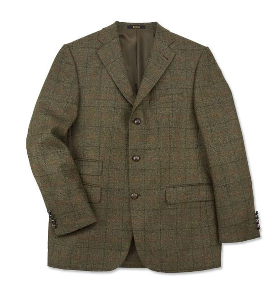 Just found this Mens Wool Tweed Sport Jacket - Barbour Windowpane Jacket (no longer available)