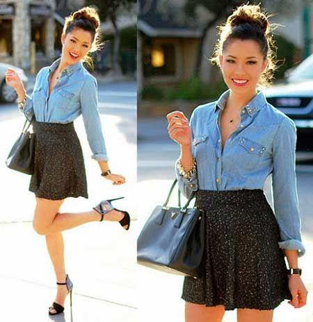 Mais looks como este http://modafeminina.biz/saias-moda/como-usar-saia-rodada: