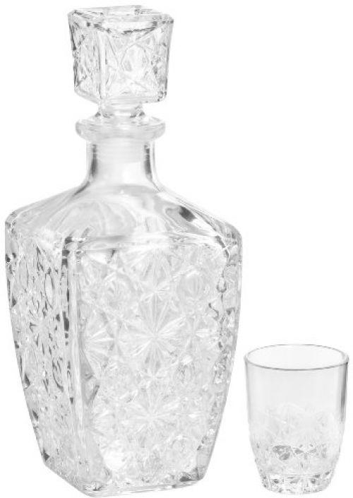Bormioli Rocco Dedalo 7 Piece Tumblers 3 Ounce 6 Shot Glass Liqueur Set New #BormioliRocco