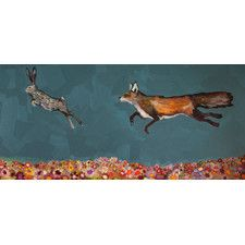 """The Chase"" by Eli Halpin Painting Print on Wrapped Canvas"