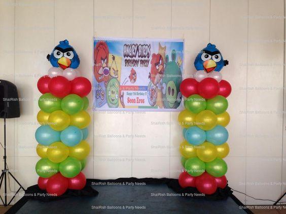 Angry Birds Balloon Decors