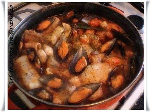 Selección de recetas con pescado