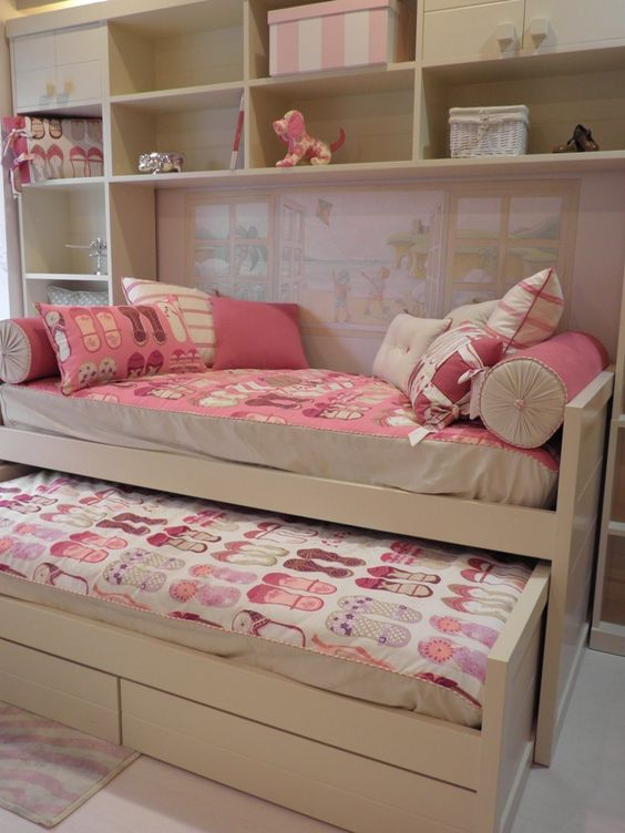 cama doble habitacion ni as pinterest beds