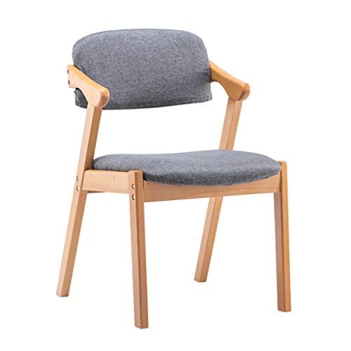 XINGPING Solid Wood Dining Chair Home Nordic Modern