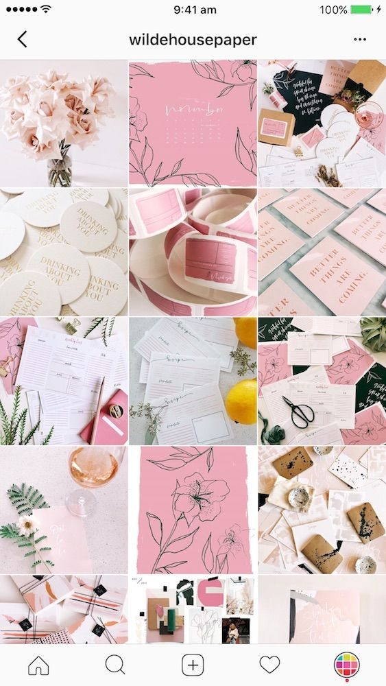 11 Brilliant Instagram Feed Ideas For Shops Tips Instagram Feed Ideas Instagram Feed Pink Instagram