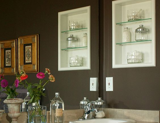 9 small bathroom storage ideas you can t afford to for Small bathroom goals