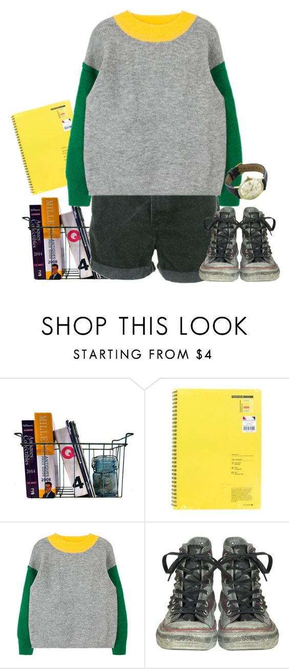 """Untitled #693"" by pyohyun ❤ liked on Polyvore featuring Levi's, Converse and OMEGA"
