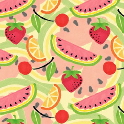 Mary Engelbreit : Tossed Melons fabric-so cute for kitchen!