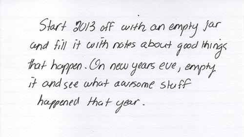 Good idea(: